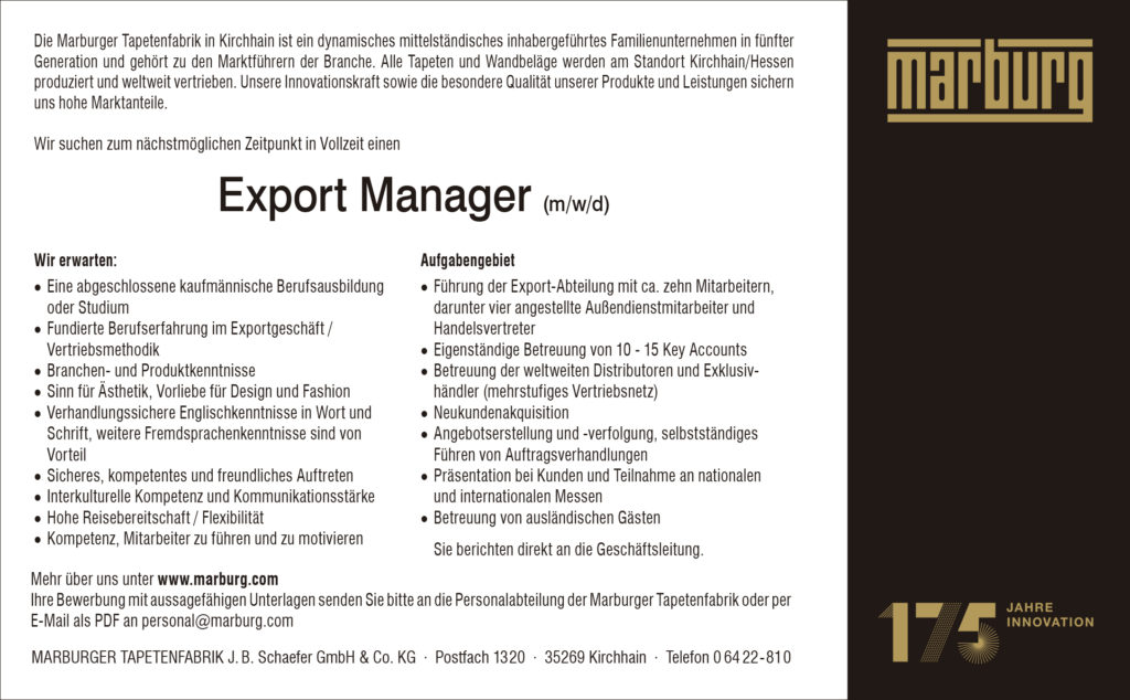 MT Anzeige Export Manager 184 x 114 mm 2021